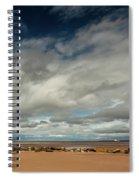 Point Of Ayre Lighthouse Spiral Notebook