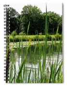 Pond At Beaver Island State Park In New York Spiral Notebook