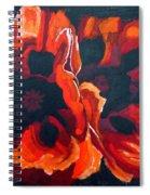 2 Poppies Spiral Notebook