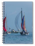 Port Huron To Mackinac Race 2015 Spiral Notebook