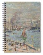 Port Of Le Havre Spiral Notebook