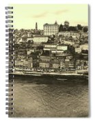 Porto, Portugal Panorama Spiral Notebook
