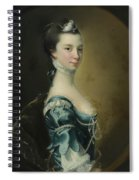 Portrait Of A Young Lady Spiral Notebook