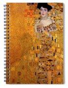 Portrait Of Adele Bloch-bauer Spiral Notebook