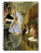 Portrait Of Mlle Fiocre In The Ballet  Spiral Notebook