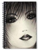 Portrait Study Spiral Notebook