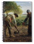Potato Planters Spiral Notebook