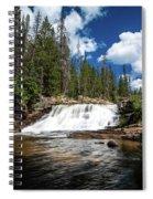 Provo River Falls Spiral Notebook