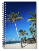 Puka Beach In Tropical Paradise Boracay Philippines Spiral Notebook