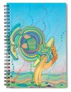 Quantum Leap Spiral Notebook