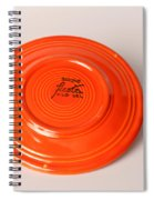 Radioactive Ceramic Plate Spiral Notebook