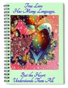 Raining In My Heart Spiral Notebook