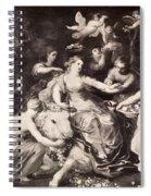 Rape Of Europa Spiral Notebook