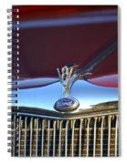 Red Ford Hotrod Spiral Notebook