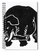 Republican Elephant, 1874 Spiral Notebook