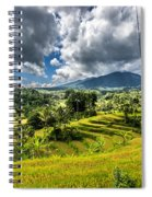 Rice Terrace Spiral Notebook