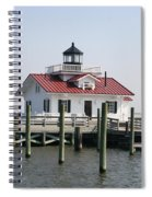 Roanoke Marshes Lighthouse Spiral Notebook
