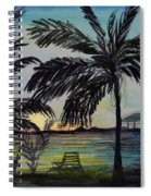 Roatan Sunset Spiral Notebook