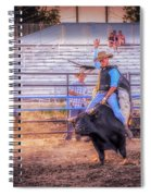 Rodeo Rider Spiral Notebook