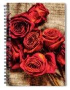 Rose - Flower Spiral Notebook