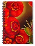 Rosehip Spiral Notebook