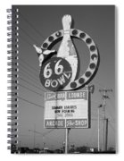 Route 66 Bowl Spiral Notebook