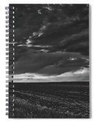 Rural Sunset Beauty Spiral Notebook