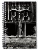 Rustic Memories Spiral Notebook