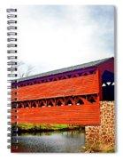 Sachs Bridge - Gettysburg Spiral Notebook