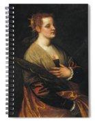 Saint Catherine Spiral Notebook