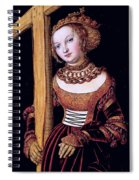 Saint Helena With The Cross Spiral Notebook