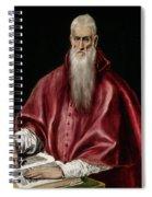 Saint Jerome As Scholar Spiral Notebook