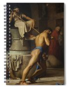 Samson And The Philistines Spiral Notebook