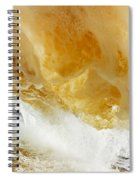 Sandy Wave Spiral Notebook