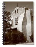 Santa Fe - Adobe Church Spiral Notebook
