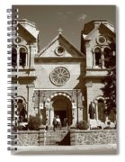 Santa Fe - Basilica Of St. Francis Of Assisi Spiral Notebook
