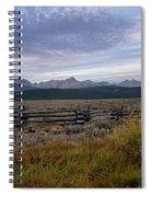 Sawtooth Range Spiral Notebook