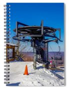 Scenery Around Timberline Ski Resort West Virginia Spiral Notebook
