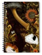 Sea Anemones, 1860 Spiral Notebook