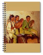 Sharp Joseph Henry Hunting Song Taos Indians Joseph Henry Sharp Spiral Notebook