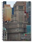 Skyline Of Manhattan - New York City Spiral Notebook