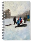Snow Day Spiral Notebook
