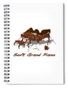 Soft Grand Piano  Spiral Notebook