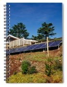 Solar Panels Spiral Notebook