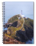 South Stack - Wales Spiral Notebook