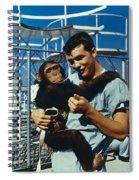 Space: Chimpanzee, 1961 Spiral Notebook