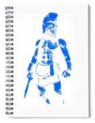 Spartan Hero Spiral Notebook