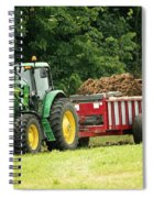 Spreading Manure Spiral Notebook