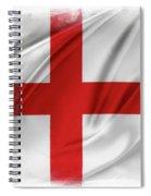 St George's Cross Spiral Notebook
