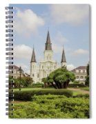 St. Louis Cathedral - Hdr Spiral Notebook